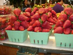 Plump strawberries at Granville Village Market in Vancouver.jpg