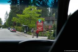 Capilano Suspension Bridge Bus Parking Only sign.jpg